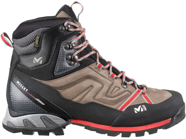 Millet M's High Route Hiking Shoes GTX Faint Brown/Red